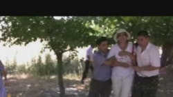 Kyrgyz Protesters Detained