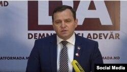 Conferință de presă a liderului Platformei DA, Andrei Năstase, Chișinău, 1 martie 2021 (capture)