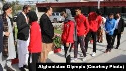 آرشیف، تکواندوکاران افغانستان