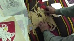 Аўтар «Пагоні» паказаў «канструктар», паводле якога маляваўся герб ВІДЭА
