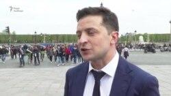 Володимир Зеленський про телефонні дебати – відео