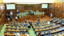 Votimi për shpërndarjen e Kuvendit