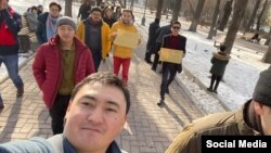 Участники марша «За законность!», 31 января 2021 г.