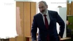 Armenian Leaders Vote In Snap Elections