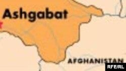 Owganystanyň Türkmenistan bilen serhetleşýän territoriýasyny görkezýän karta.