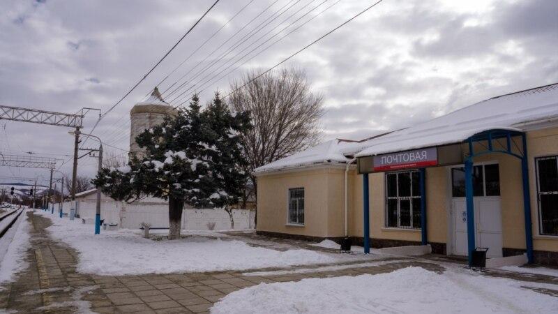 Почтовое: поселок у воды, с большим снегом, но с вододефицитом (фотогалерея)