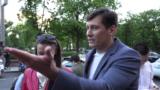 Политик Дмитрий Гудков после освобождения, 3 июня 2021 года