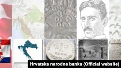 Илустрациите на хрватското евро со Никола Тесла, научникот роден во Хрватска