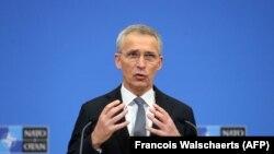 Йенс Столтенберг, дабири кулли НАТО. 22-юми март, Брюссел
