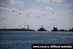 Во время учений «Морской щит-2021» в Румынии. Март 2021 года