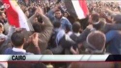 Egyptians Mark Protest Anniversary