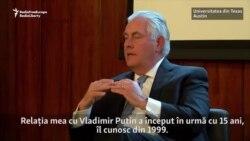 Rex Tillerson și Rusia