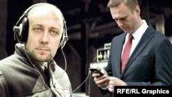 Константин Кудрявцев, Алексей Навальный (коллаж)
