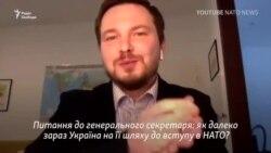 Генсекретар НАТО: Україні для вступу потрібні реформи і боротьба з корупцією – відео