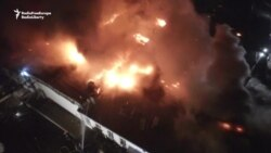 Eight Firefighters Die In Moscow Warehouse Blaze