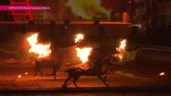 Беркуты, джигиты и звук тысячи комузов: на Иссык-Куле начались Игры кочевников