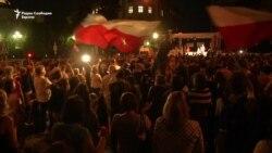 Продолжуваат протестите во Варшава против реформите во судството