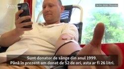 Ziua Mondială a Donatorului de Sânge la Chişinău