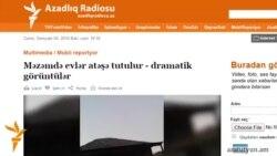 Ադրբեջանցիներ հաղորդում են պատասխան գնդակոծությունների մասին