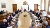 Първото заседание на служебното правителство на 13 май 2021 г.