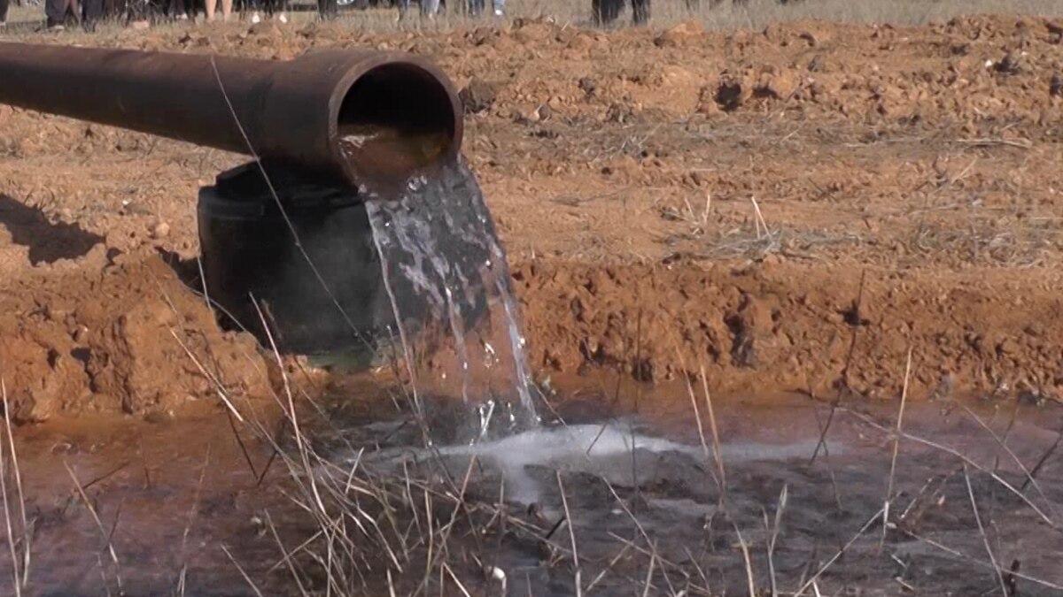 Вода из артезианских скважин Крыму непригодна для питья €? экс-глава Рескомводхоспу АРК