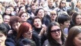 Mothers Protest In Montenegro Over Reduced Social Benefits