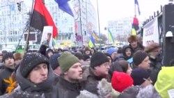 Кілька сотень активістів пікетували суд