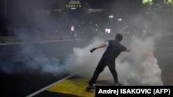 Protest u Beogradu 7 jula 2020.