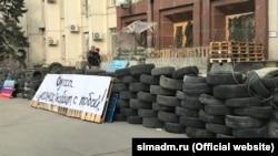 Съемки российского фильма «Солнцепек» в Симферополе