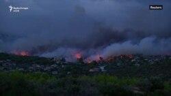 Zjarre vdekjeprurëse në Greqi