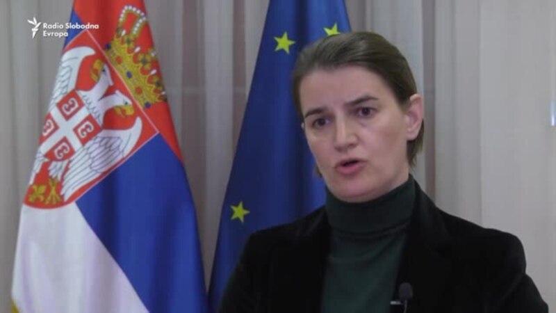 Brnabić za RSE: Oliver Ivanović nam nije bio neprijatelj