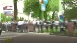 "Ташкент встретил туркменского президента ""живым коридором"""