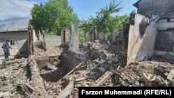 Таджикское село Ходжаи Аъло после конфликта на границе с Кыргызстаном