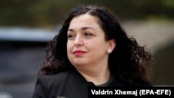 Претседателката на Косово Вјоса Османи