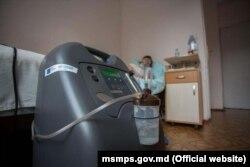 Concentratoar de oxigen, adus în R. Moldova cu sprijinul UE și OMS