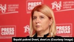 """Gordana Marinković Savović, stranka """"Srpski pokret Dveri"""""""