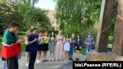 День памяти жертв депортации крымских татар, Казань, 18 мая 2021 года