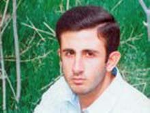Iran -- Ebrahim Lotfollahi, An Iranian student who died in prison in January 2008, Undated