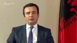 Курти: интеграција со Албанија преку успехот на Косово како држава