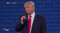 Баҳси оташини Трамп ва Клинтон дар мубоҳисаи дуюми онҳо