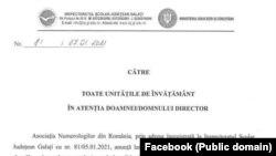 Documentul poartă antentul și semnătura inspectorului general