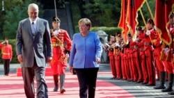 Rama pret Merkelin në Tiranë