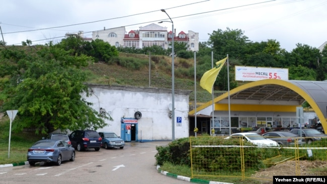 Место выхода тоннеля на улице Пожарова, Севастополь