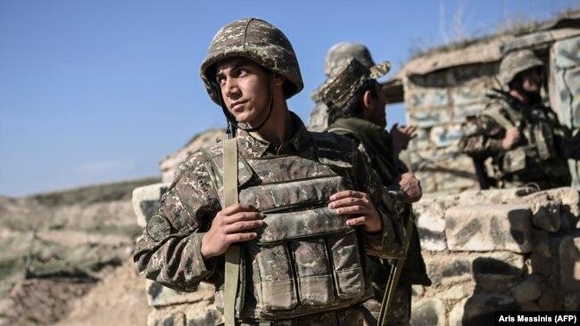 Ushtarë armenë.