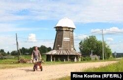 Мельница-голландка в Ровдиной Горе