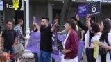 «Стране нужны реформы». Марш в Алматы