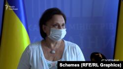 Членкиня Конкурсної комісії з відбору директора Бюро економічної безпеки Людмила Рубаненко не змогла пояснити журналістам, як комісія голосуватиме за кандидатів після співбесіди