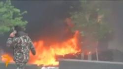 Выбух у цэнтры Бэйруту