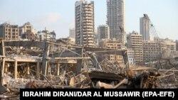 لبنان بعد از انفجار