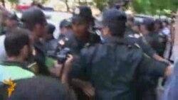Первое видео с акции протеста 19 июня